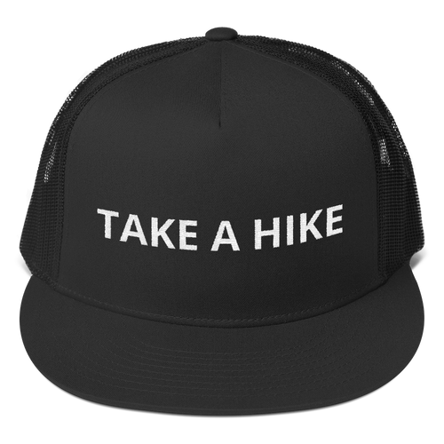 Take A Hike Trucker Cap