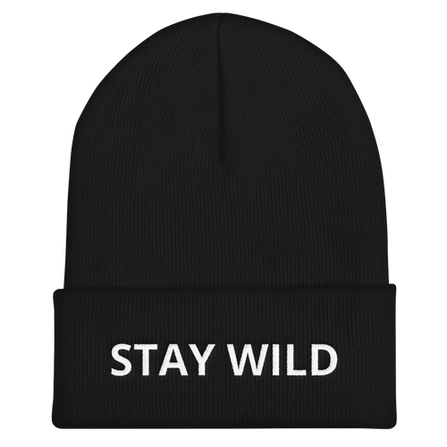 Stay Wild Cuffed Toque