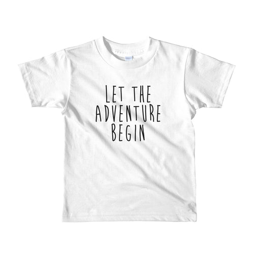 Let The Adventure Begin Kids T-Shirt