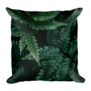 Fern Print Pillow