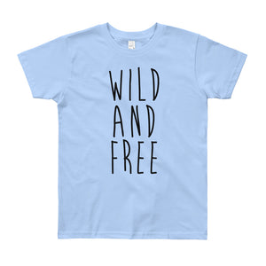 Wild And Free Youth T-Shirt