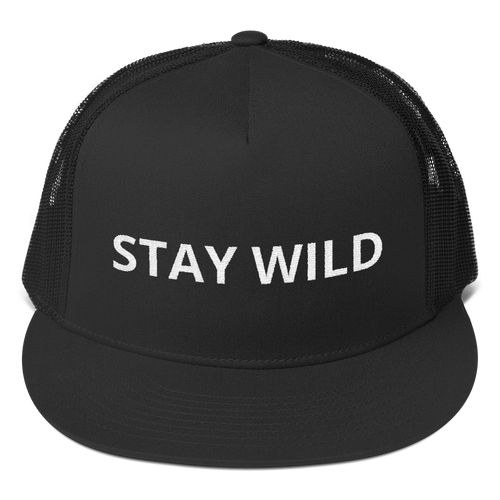 Stay Wild Trucker Cap