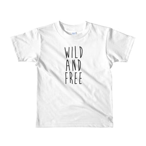 Wild And Free Kids T-Shirt