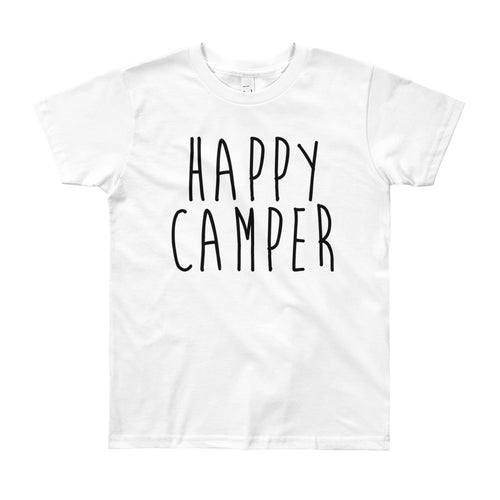 Happy Camper Youth T-Shirt