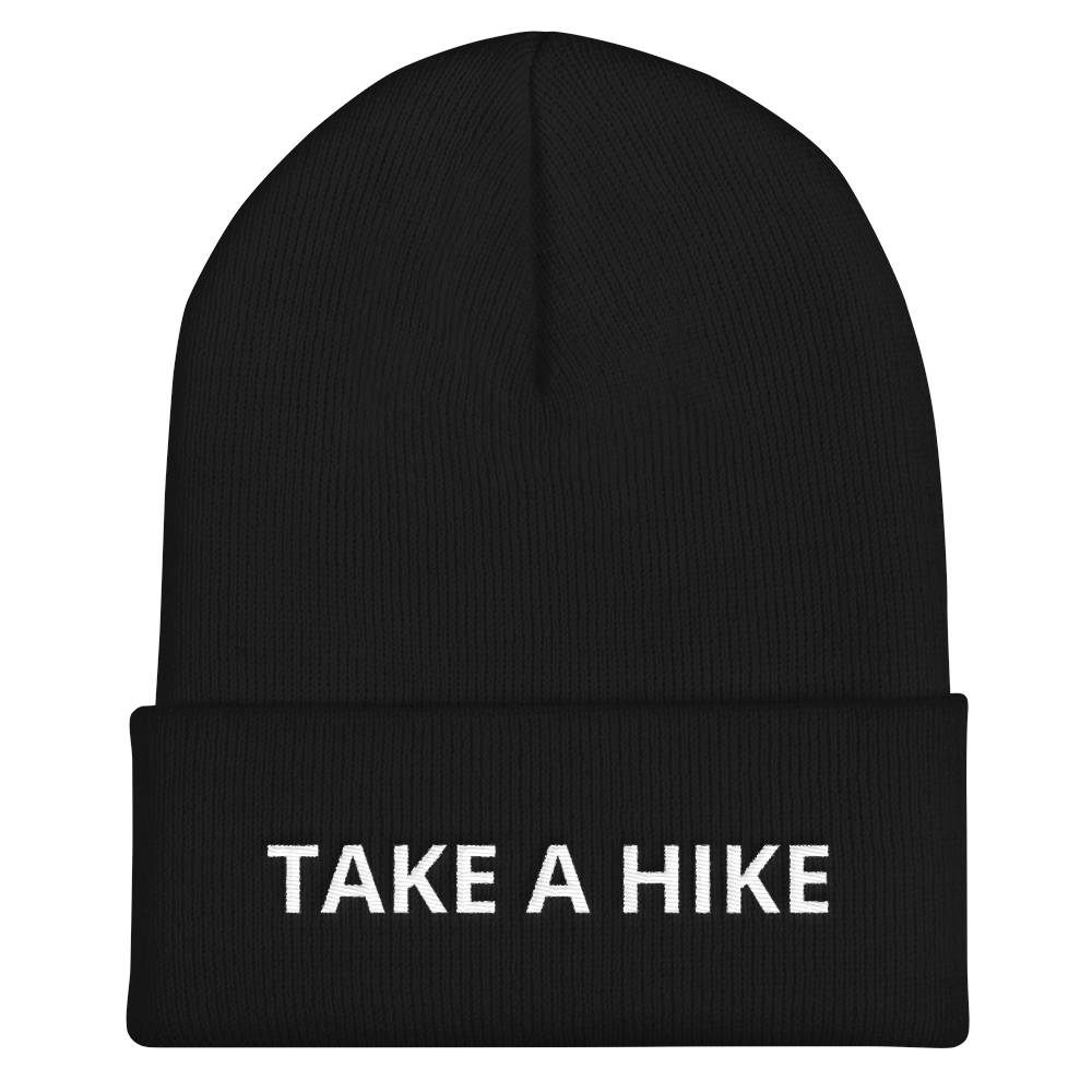 Take A Hike Cuffed Beanie