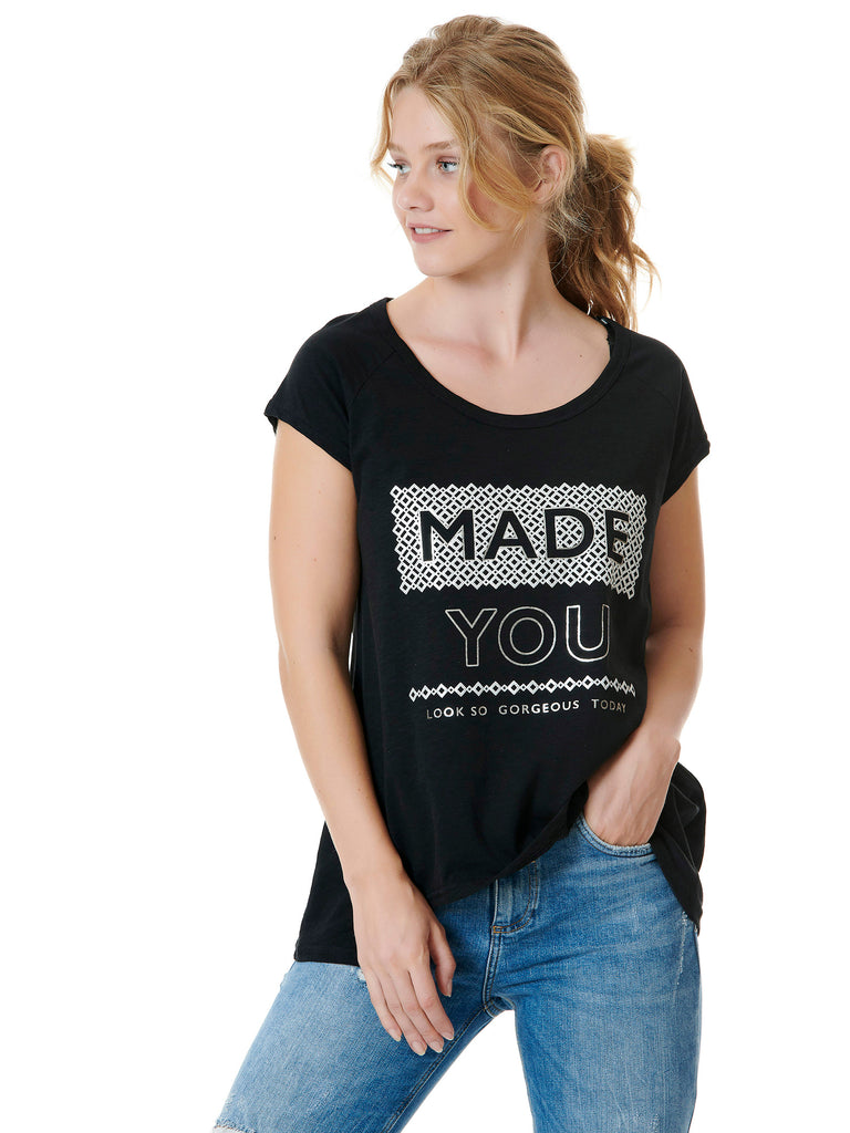 "T-SHIRT ""MADE YOU"""