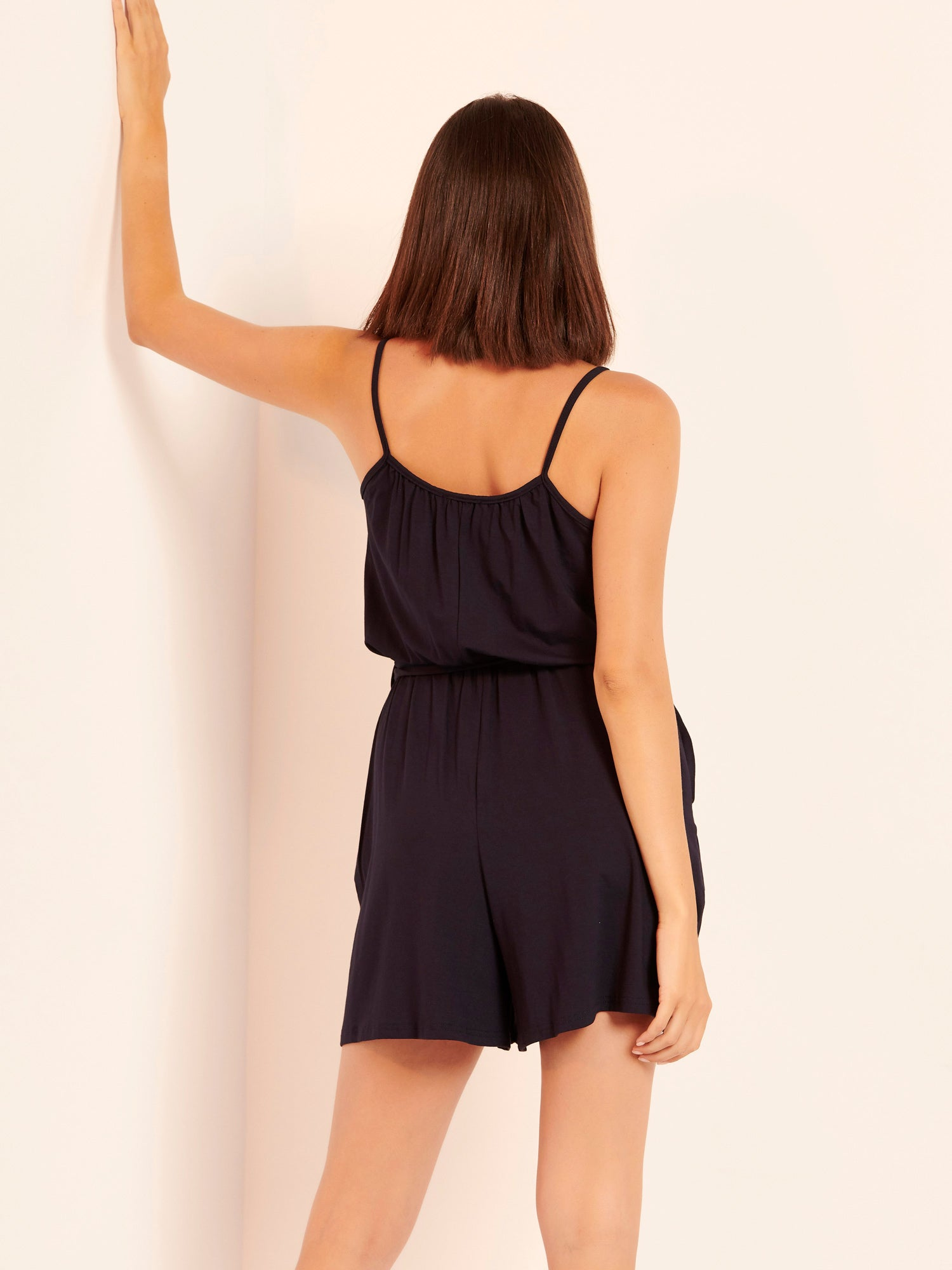 Sustainable playsuit με τσέπες
