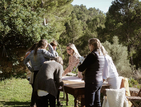 SEWING RETREAT SUNVIBES MALLORCA GAIA FINCA