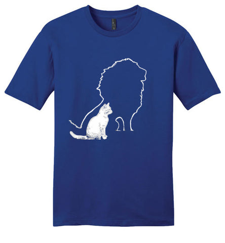 Men's Heart Of A Lion T-shirt