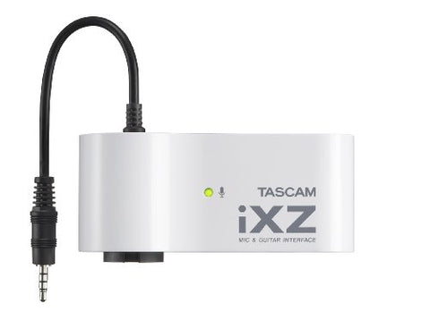 🔥Tascam iXZ. Microphone And Instrument, Audio Interface for iOS, Mobile Devices, iPhone, iPod, And I pad..
