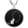 Image of Heart Of A Lion Necklace