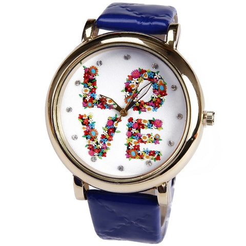 Hippie Style Love Watch