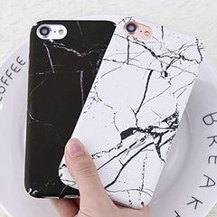Hard Marble V2 iPhone Case