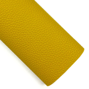 Goldenrod Pebbled Vegan Leather