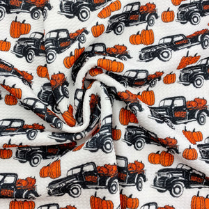 Harvest Trucks Bullet Fabric