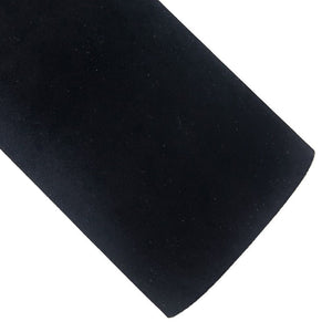 Black Velvet Vegan Leather