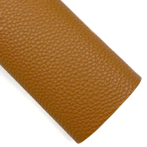 Saddle Pebbled Vegan Leather
