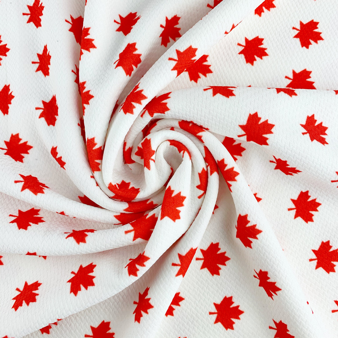 Maple Leaf Bullet Fabric