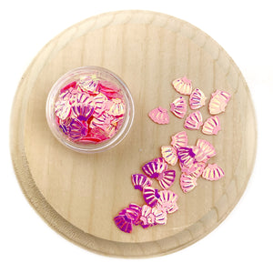 Pink Seashell Sequins Confetti Pieces