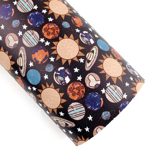 Suns & Planets Vegan Leather