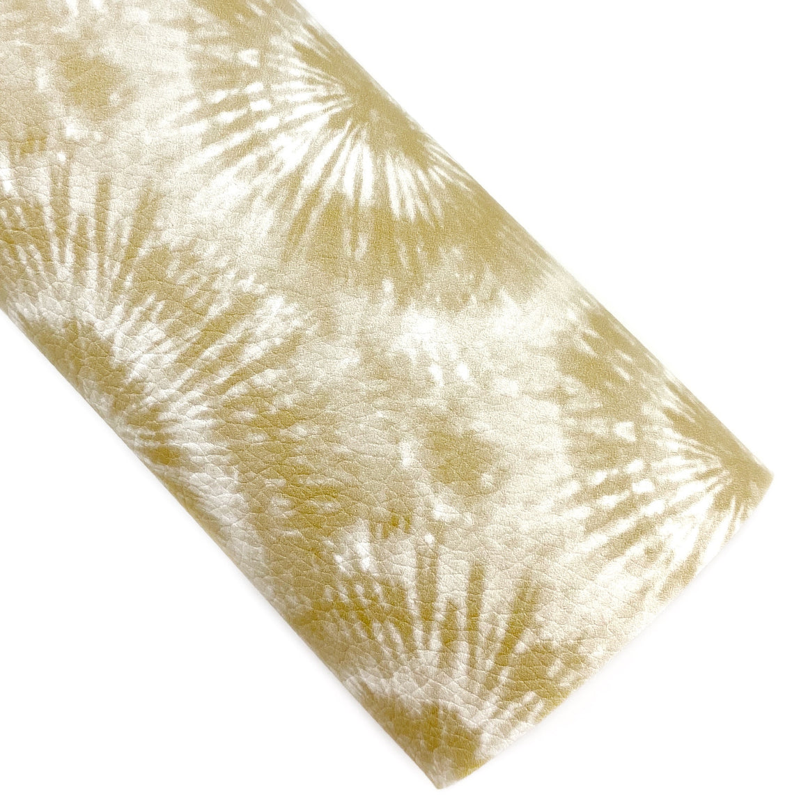 Honey Butter Tie-Dye Vegan Leather