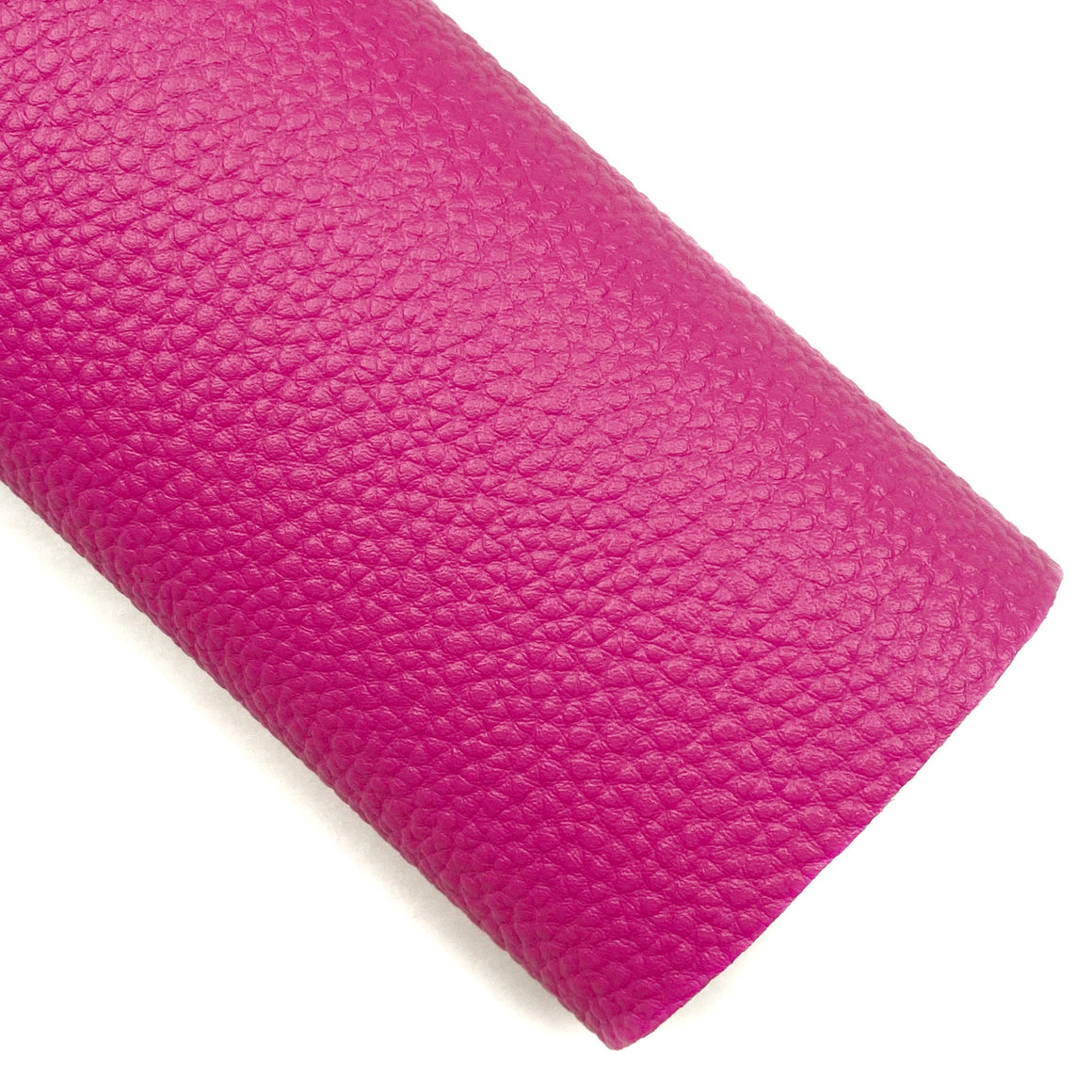 Pink Pebbled Vegan Leather