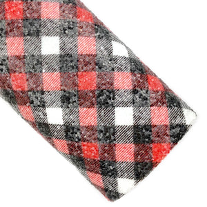 Saint Nick Plaid Chunky Glitter