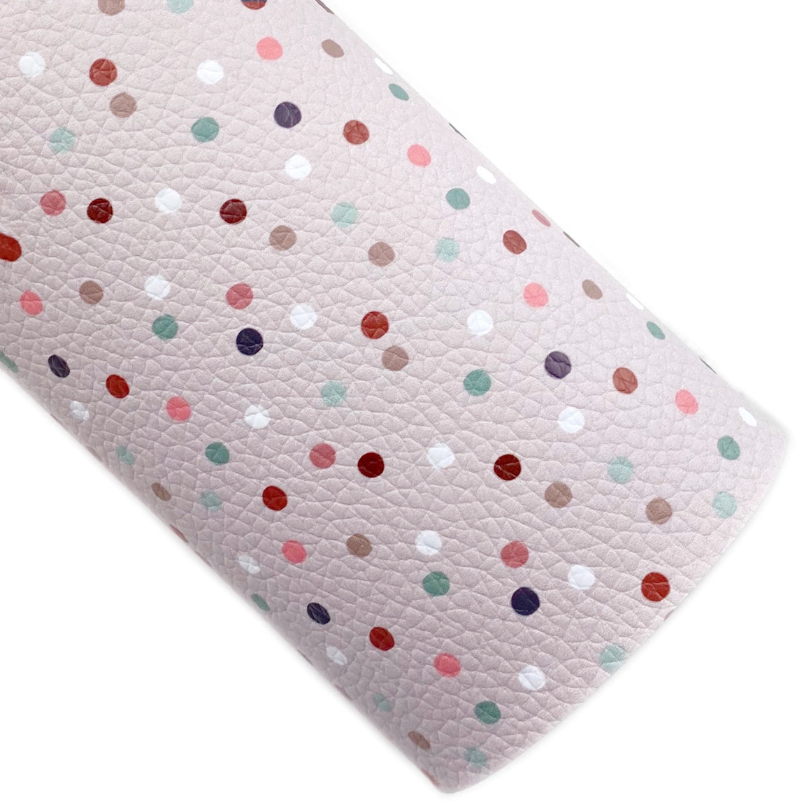 Vintage Dots Vegan Leather