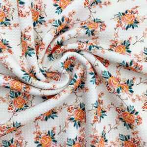 Spiced Floral Bullet Fabric