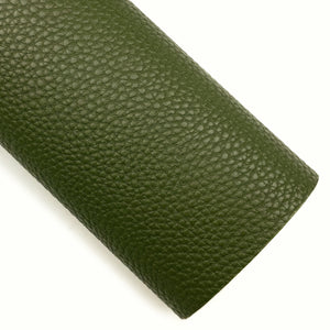 Olive Pebbled Vegan Leather