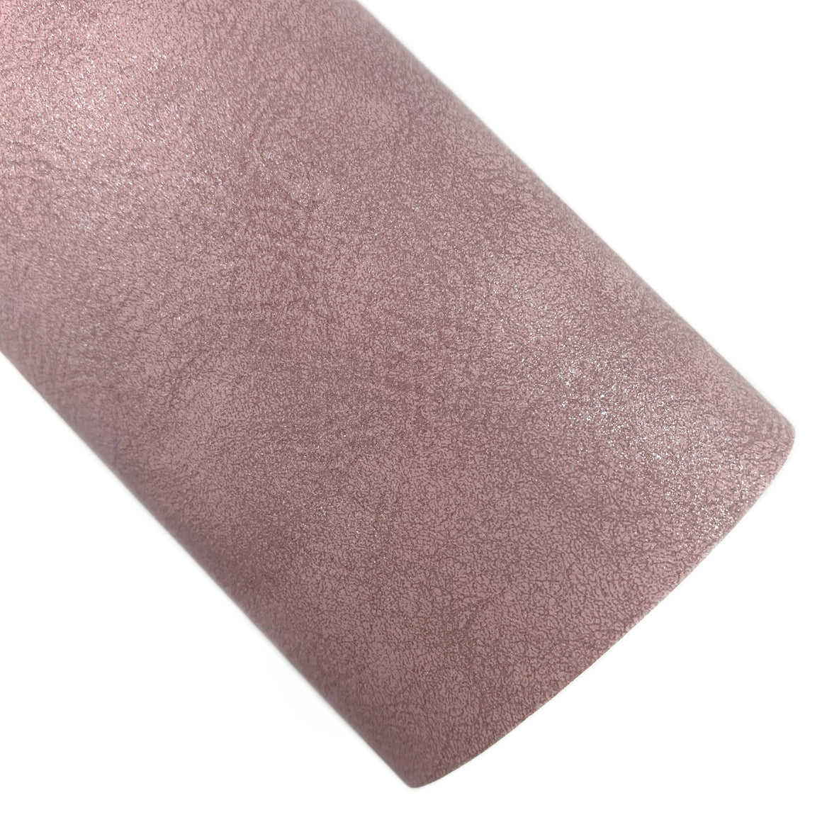 Dusty Rose Aged Shimmer Vegan Leather