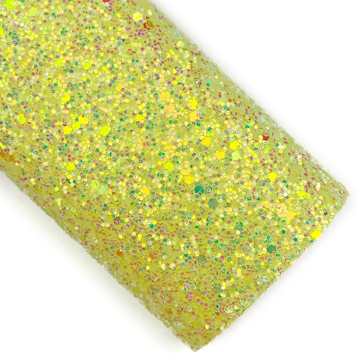 Soft Yellow Opalescent Glitter