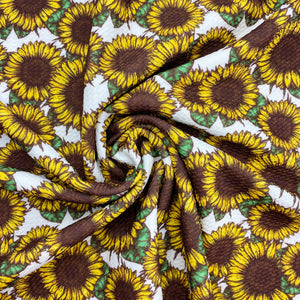 Sunflower Field Bullet Fabric