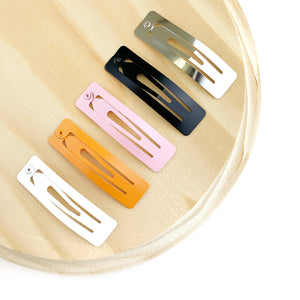 Set of 3 - 2in Rectangle Snap Clips