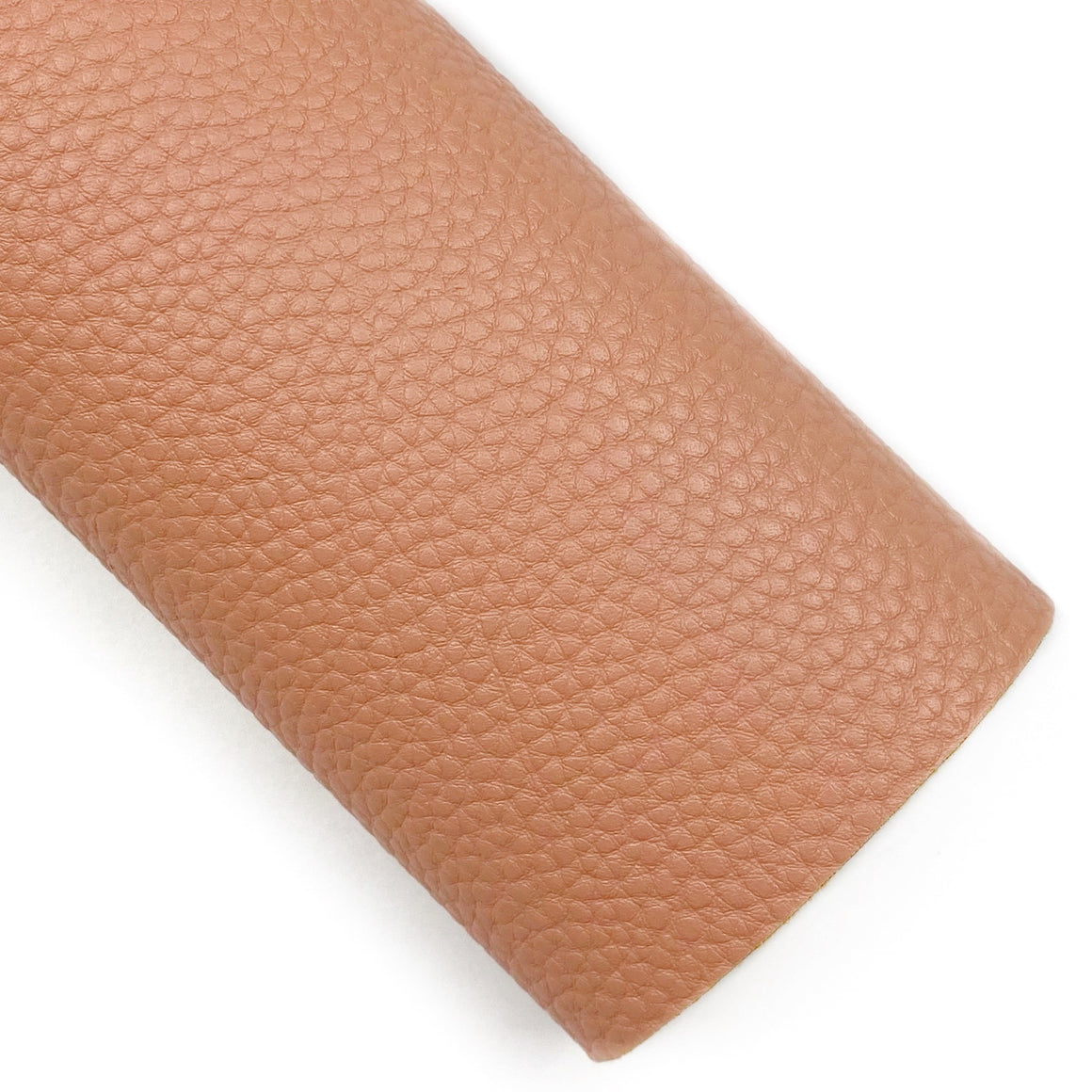 Terracotta Pebbled Vegan Leather