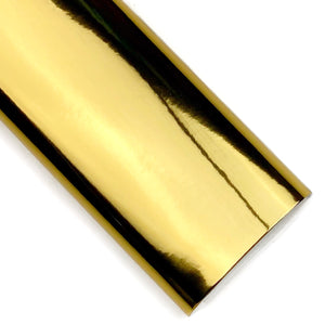 Gold Mirror Patent Vegan Leather