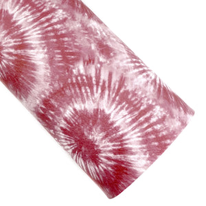 Brick Tie-Dye Vegan Leather