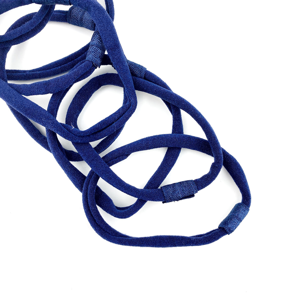 Navy Nylon Interchangeable Headband