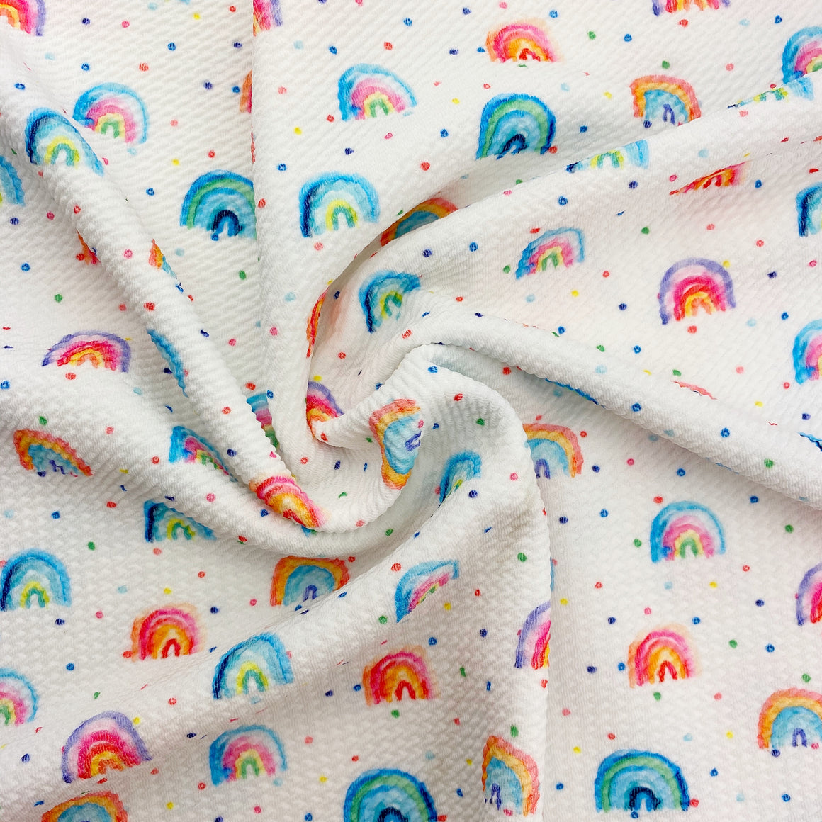 Chasing Rainbows Bullet Fabric