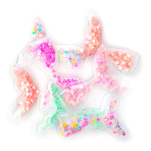Set of 3 Mermaid Tails Shaker Appliques