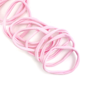 Pink Nylon Head Band