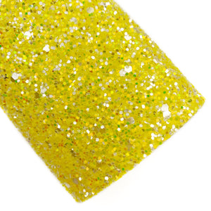 Lemon Drop Bubbly Glitter