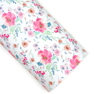 Sweet Innocence Floral Vegan Leather