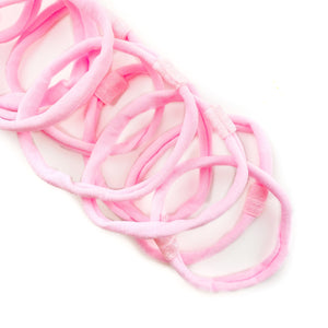 Pink Nylon Interchangeable Headband