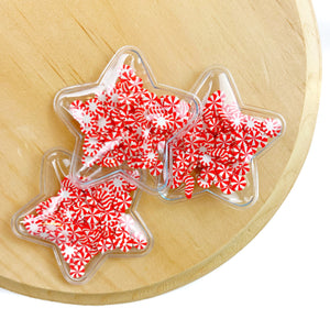 Peppermint Candies Star Shaker Appliques