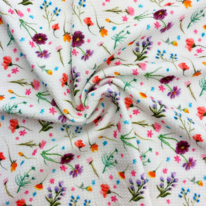 Field of Wildflowers Bullet Fabric