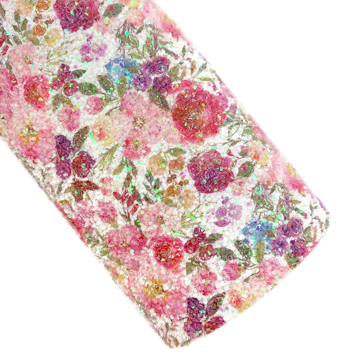 Stop to Smell the Flowers Iridescent Chunky Glitter