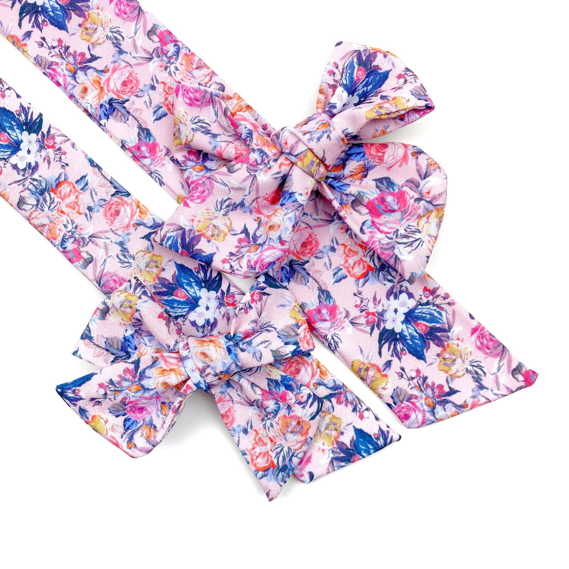 Pink Floral Essence JB Effortless Bow Strips - Closed Edge