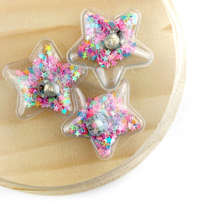 Multi Light Up Star Shaker Appliques