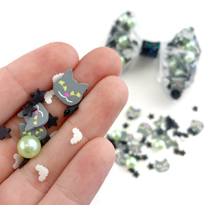Green Imitation Pearl Resin